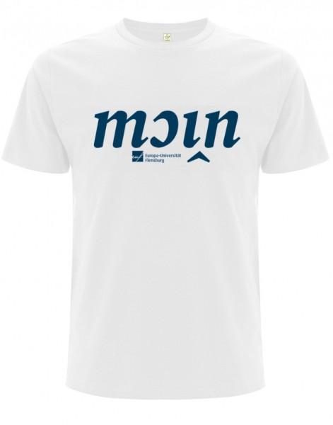 T-Shirt Herren Weiß Moin